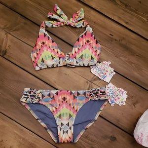 Becca Tribal Bikini NWT